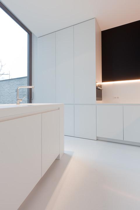 Witte keuken design - Witte keukenfotos ...
